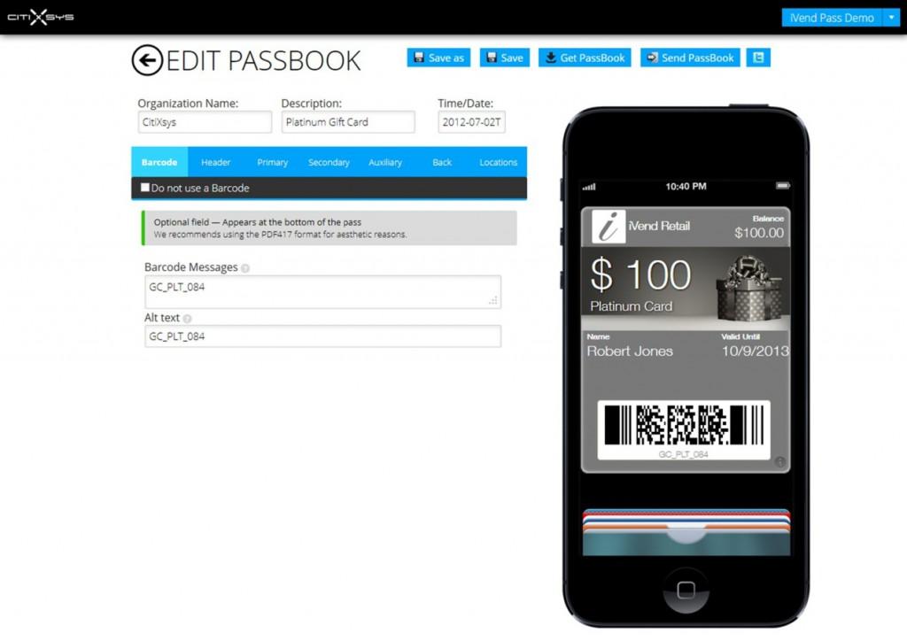Passbook Edit