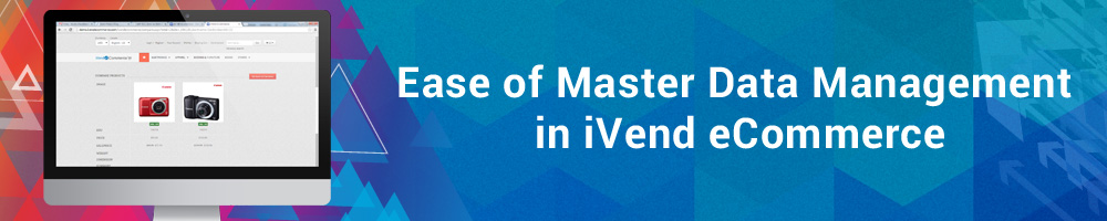 Ease of Master Data Management in iVend eCommerce