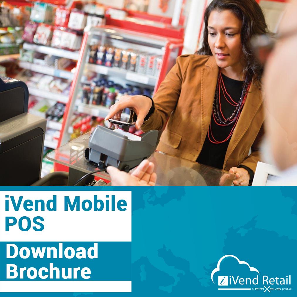 Download iVend Mobile POS Brochure