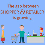 The gap between shoppers and retailers is growing