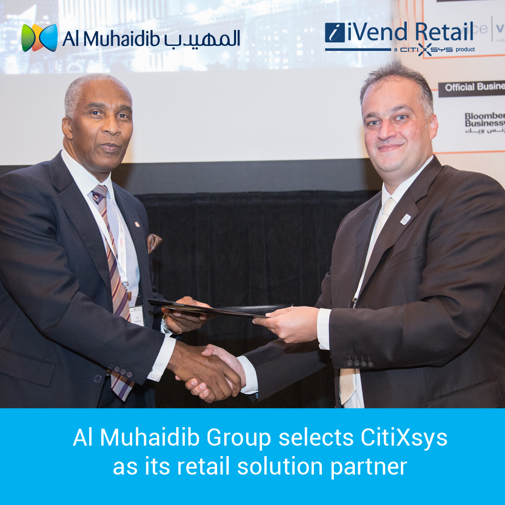 Al Muhaidib Group selects CitiXsys as its retail solution partner