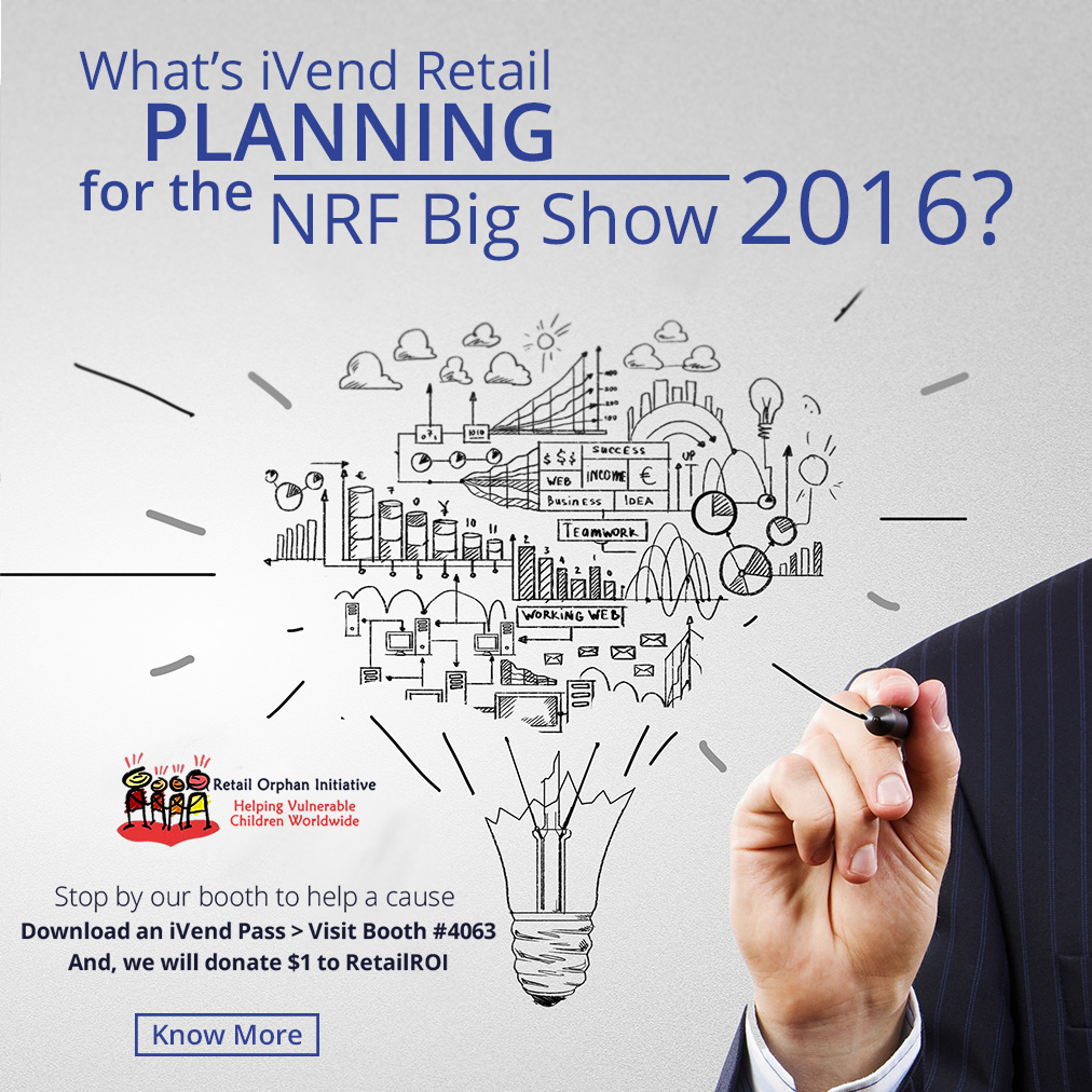 What's iVend Retail Planning for the NRF Big Show 2016?