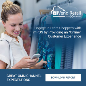 "Engage In-Store Shoppers with mPOS by Providing an ""Online"" Customer Experience"