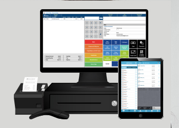 Bar and restaurant point of sale system (pos).