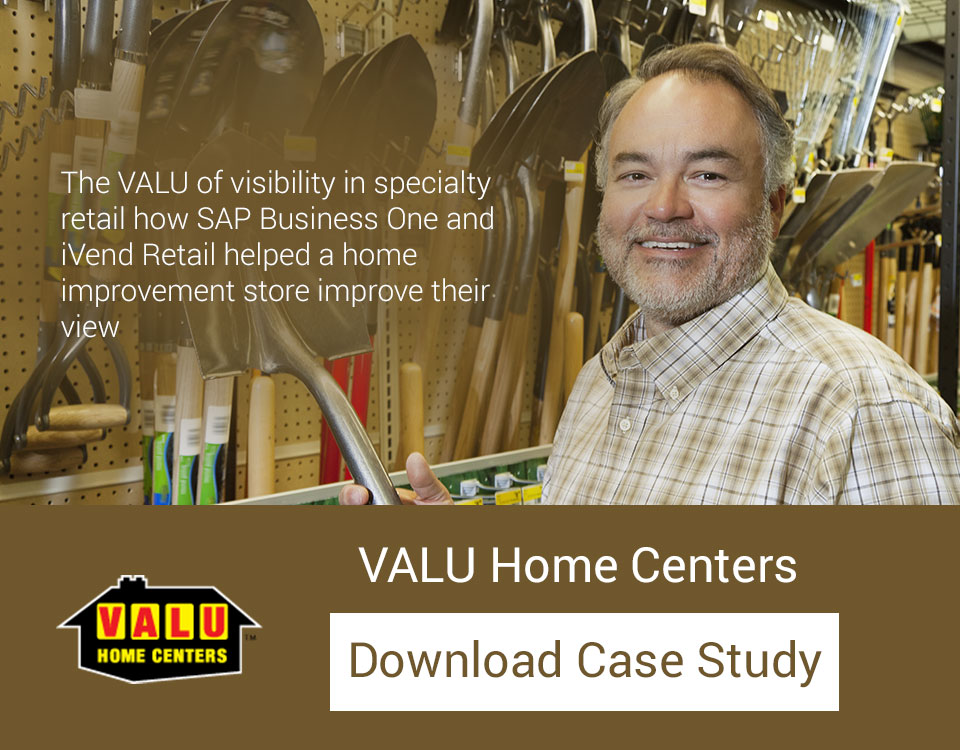 The VALU of visibility in specialty retail – how SAP