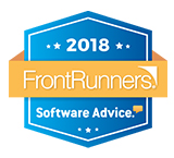 Sofware Advice 2018 Front Runner