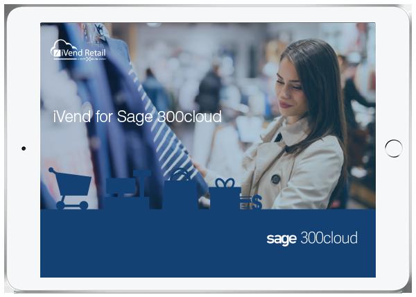 iVend Sage 300cloud Factsheet