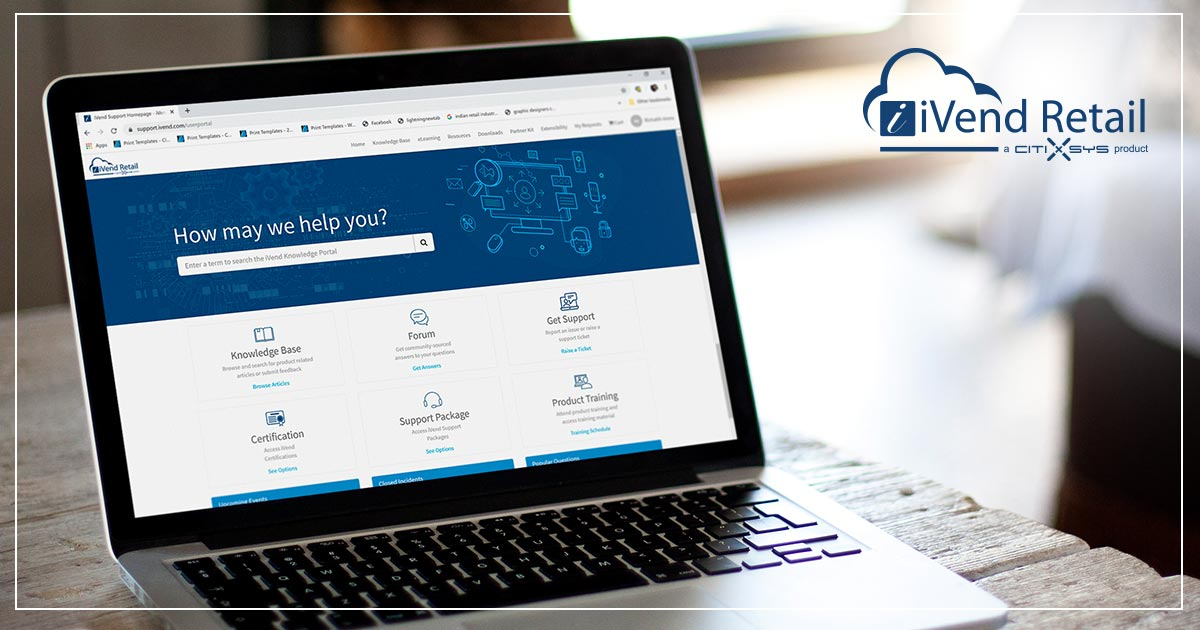A new iVend Retail Support & Knowledge Portal is on the way